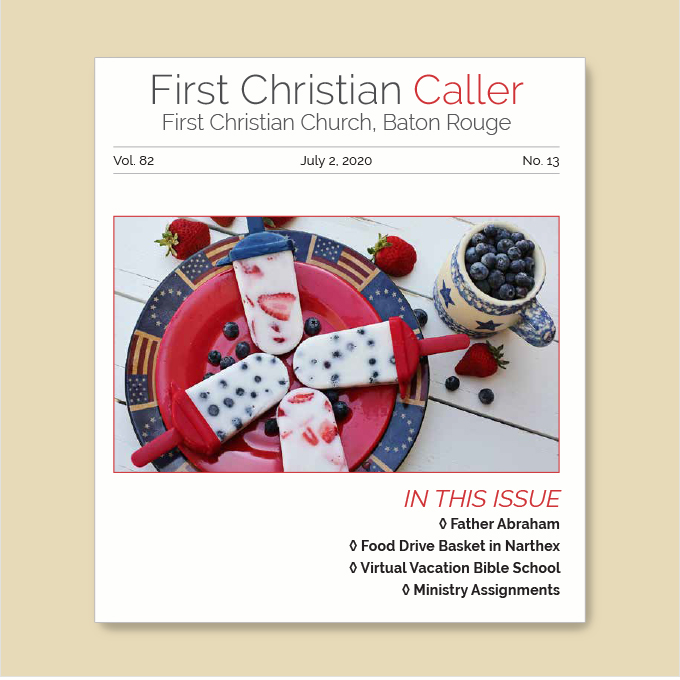 "Featured image for ""First Christian Caller – July 2, 2020"""