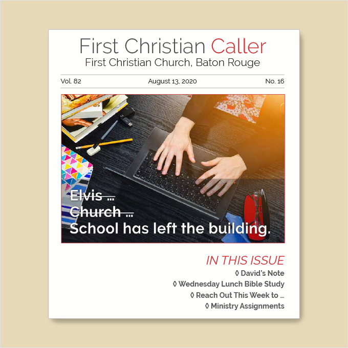 "Featured image for ""First Christian Caller – August 13, 2020"""