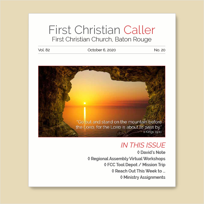 "Featured image for ""First Christian Caller – October 6, 2020"""