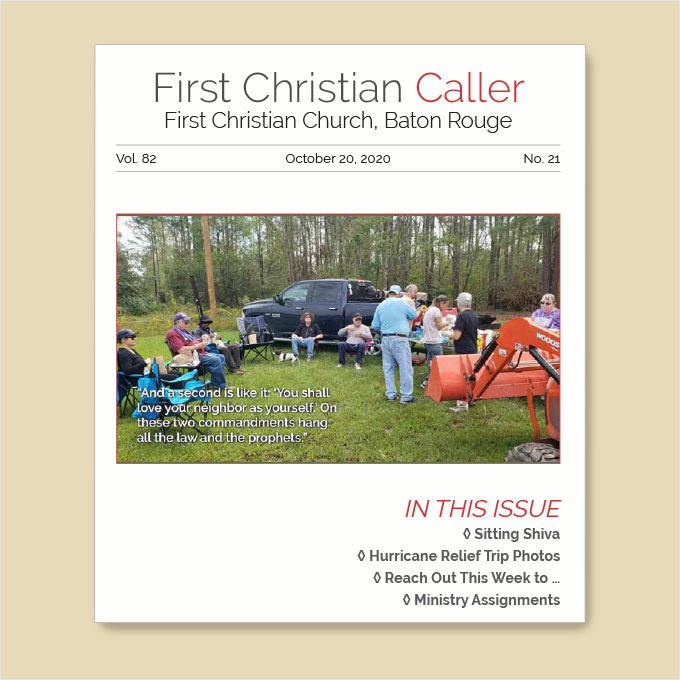 "Featured image for ""First Christian Caller – October 20, 2020"""