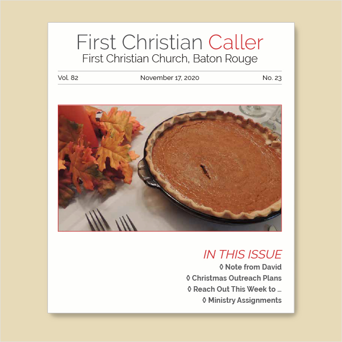 """Featured image for """"First Christian Caller – November 17, 2020"""""""
