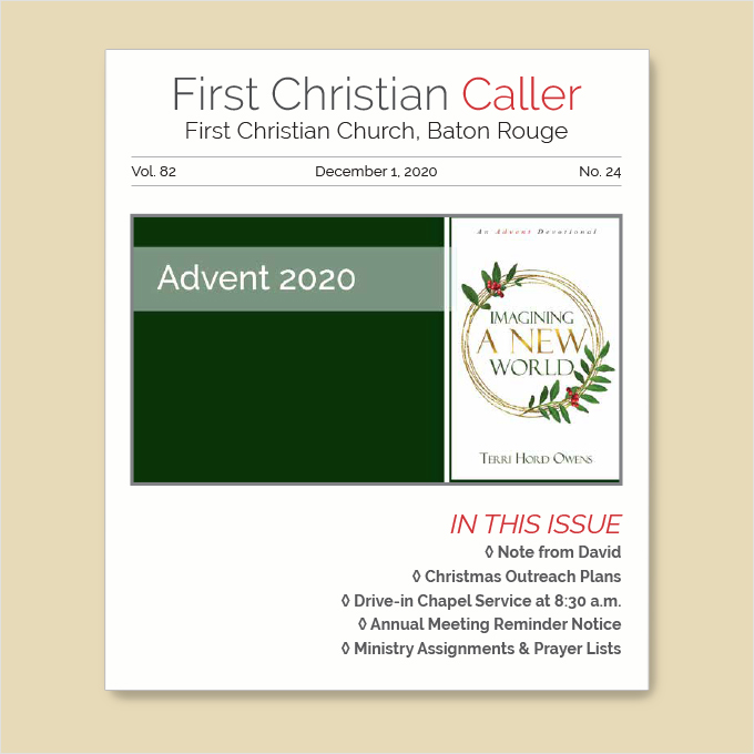 "Featured image for ""First Christian Caller – December 15, 2020"""