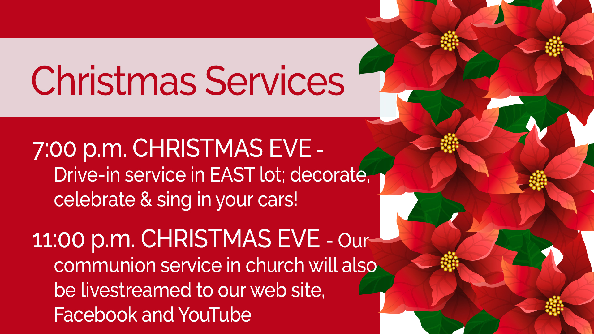 "Featured image for ""Christmas Eve 2020 – 11 pm Order of Service"""