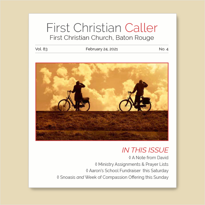 "Featured image for ""First Christian Caller – February 24, 2021"""