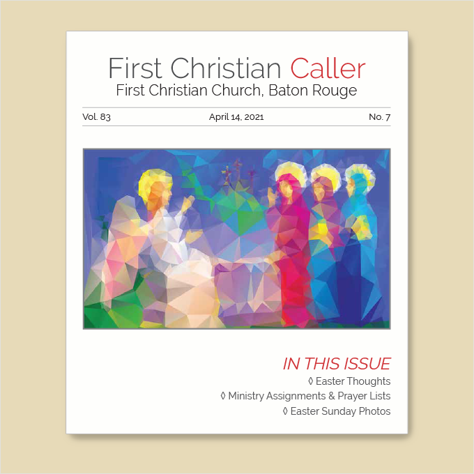 "Featured image for ""First Christian Caller – April 7, 2021"""